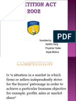 Ppt Competition Act