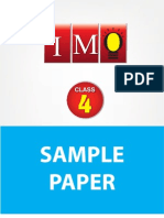 Class 4 Imo 4 Years Sample Paper