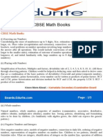 CBSE Math Books