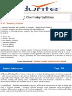 ICSE Chemistry Syllabus