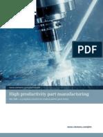 NX75 Siemens PLM NX CAM High Productivity Part Manufacturing