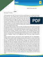CEO's Notes Nov 2011 - Berkurang Satu Tetap Satu