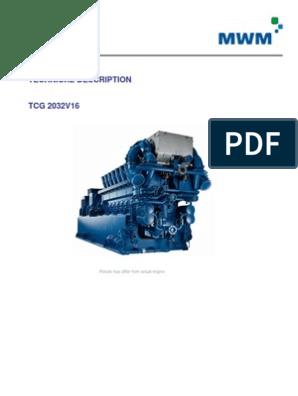 1 Technical-Description Mwm 2032v16-2   Piston   Ignition System