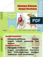 Pert 4 Organ Pencernaan Makanan Karb Pro Min Air