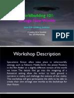 Worldbuilding 101