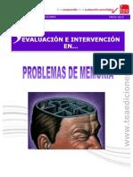 Evaluación e intervención en Problemas de Memoria