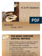 VC & PE Valuations