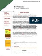 Turabian Citation Guide