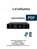 Guide Rapide DEX7104IPHD1