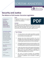 Re-balancing security and justice