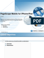 Guide PageScope Mobile for-iOS E