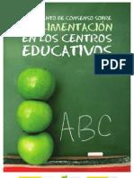 LA ALIMENTACIÓN EN LOS CENTROS EDUCATIVOS