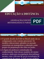 Educação a Distância legislação conceitos metodologias e par