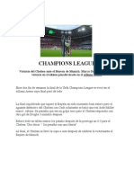 Noticias, Champions League, Ibai Balbas