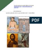Questões Surgimento do Cristianismo-por-leandro-villela-de-azevedo
