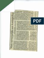 Niets Verwerpelijks Aan Koningschap - NRC Handelsblad - 9 December 1992