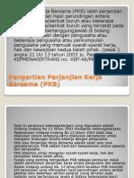 Pengertian Perjanjian Kerja Bersama (PKB)