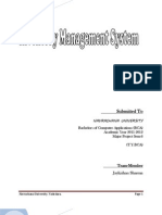 Inventory Management System Report