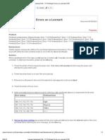Printhead Error Lexmark C760 C762