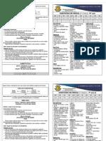 Calendário e Conteúdos de Provas - 2° Bimestre- 6° ao 9° Anos