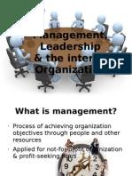 Chap 8- Managmt, Leadership