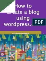 Maria Corazon_Jorge_How to Create a Blog Using Wordpress