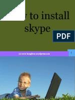 Maria Corazon_Jorge_How to Create Skype Account