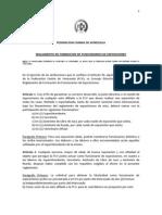 REGLAMENTO DE FORMACION DE FUNCIONARIOS DE EXPOSICIONES
