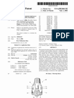 Polycrystalline diamond partially depleted of catalyzing material (US patent 6585064)