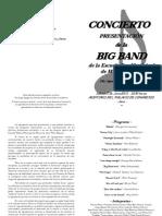 Programa Presenta Big Band