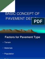 Basic Concept of Pavement Design - Ing. L. Lamptey