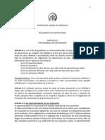 REGLAMENTO DE EXPOSICIONES CAPITULO IX FUNCIONARIOS DE EXPOSICIONES