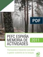 PEFC Spain Annual Report 2011