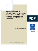 Characterization of Activated Carbon Produced From Coffee Residues