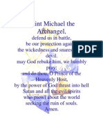 St. Michael Prayer