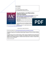 AAC Aphasiology