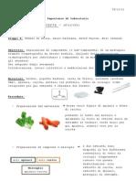 Relazione chimica- cromatografia
