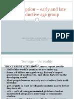 Contraception Among Teens