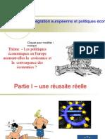 thème 2011 2012  une convergence des économies européennes