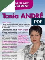 Journal de campagne de Tania André