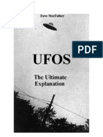 UFOS - The Ultimate Explanation