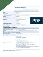 CV Giovana Saavedra