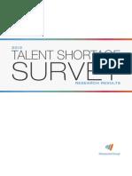 2012 Talent Shortage Survey Results US Final Final