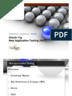 Real Application Testing