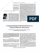 Computed Modal Dielectric