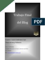 Trabajo de Innovaciones Blog - Laura Cembranos