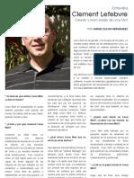 Entrevista a Clement Lefebvre
