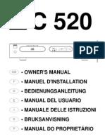 C 520 Compact Disc Player - Seven Language Manual