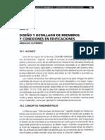 Diseño y Detallado de Miembros y Conexiones en Edificaciones