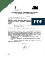 Oficio Multiple N° 179-2012-DREJ-DGP-CES